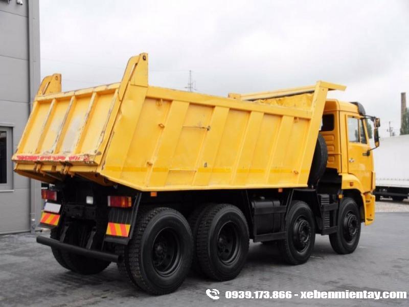 Xe Ben 4 chân Kamaz 6540 20 tấn