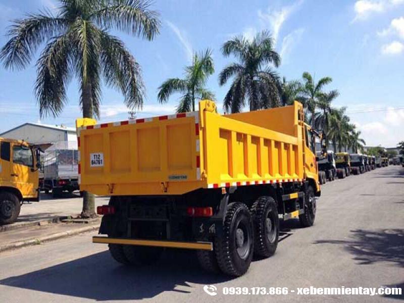 Xe ben Dongfeng Hoàng Huy 13.5 tấn 3 chân