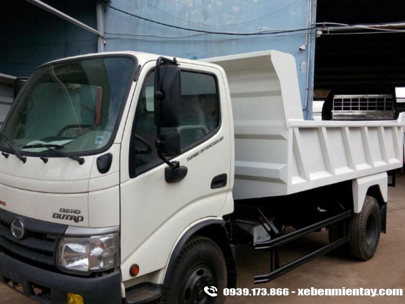 Xe ben Hino 4.5 tấn WU342L 130HD
