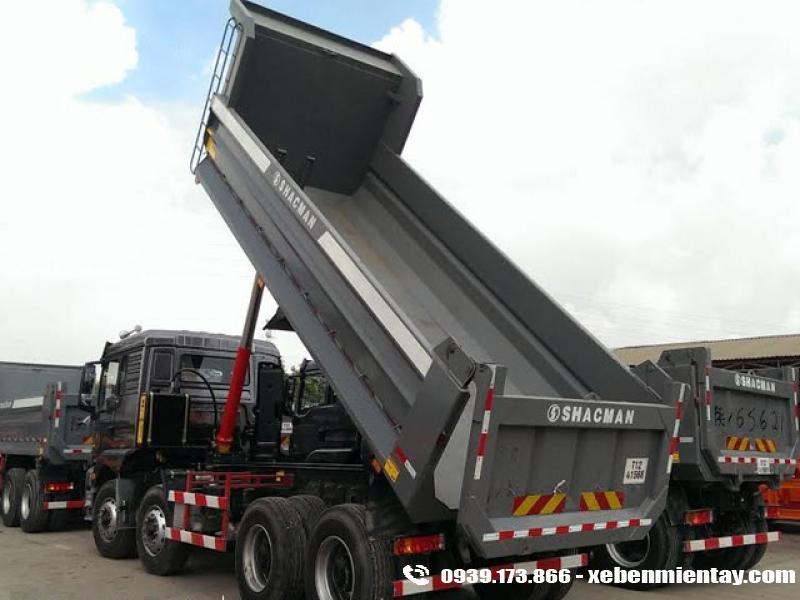 Xe ben Shacman 4 chân 17 tấn M3000