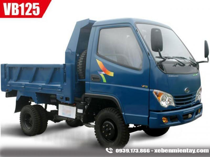 Xe ben Veam VT125 1.25 tấn