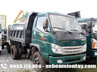 Xe ben Cửu Long TMT 3.5 tấn máy Hyundai