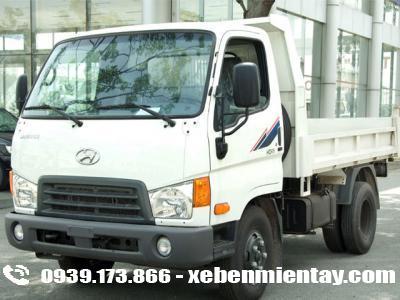 Xe ben Hyundai 1.75 tấn HD65